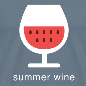 summer wine - Men's Premium T-Shirt