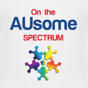 On the AUsome Spectrum Kids' Shirts - Kids' Premium T-Shirt