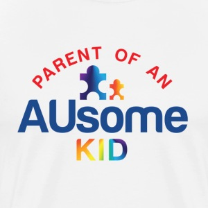 Parent of an AUsome Kid Classic Tshirt - Men's Premium T-Shirt