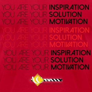 You are Your Inspiration  - Men's T-Shirt by American Apparel