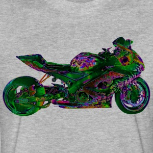 Suzuki GSX-R 1000 FULL GN T-Shirts - Fitted Cotton/Poly T-Shirt by Next Level