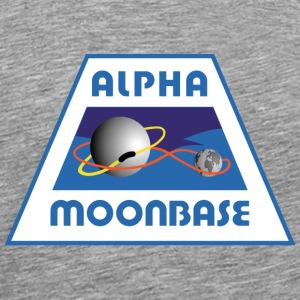 Moonbase Alpha Crest - Men's Premium T-Shirt