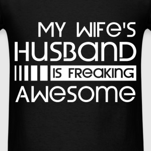Husband - Awesome - Men's T-Shirt