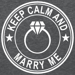 Keep Calm And Marry Me Women's T-Shirts - Women's T-Shirt