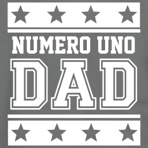 Numero Uno Dad Zip Hoodies & Jackets - Unisex Fleece Zip Hoodie by American Apparel