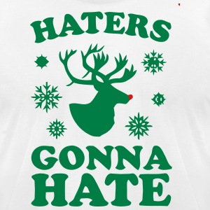 Haters T-Shirts - Men's T-Shirt by American Apparel