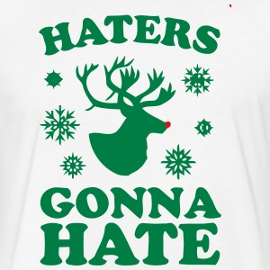Haters T-Shirts - Fitted Cotton/Poly T-Shirt by Next Level