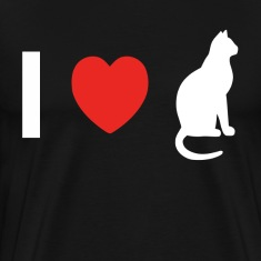 I Love Pussy Cat Animal Lovers T-Shirts