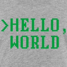Hello, World Kids' Shirts