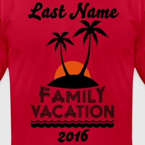 Family Beach Vacation T-Shirts - Men's T-Shirt by American Apparel