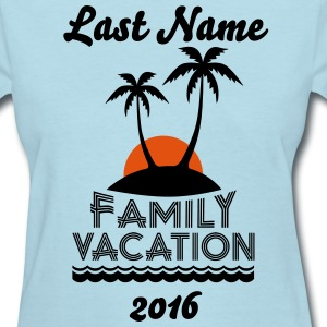 Family Beach Vacation Women's T-Shirts - Women's T-Shirt