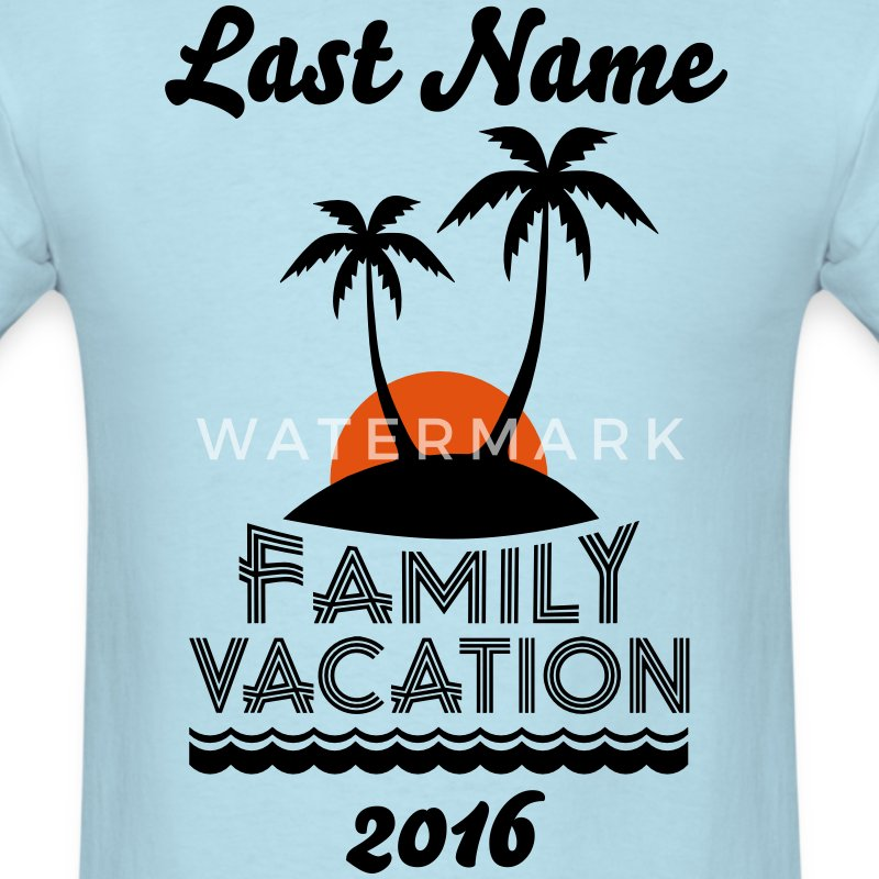 Family Beach Vacation T-Shirts - Men's T-Shirt