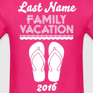 Family Vacation Flip Flop T-Shirts - Men's T-Shirt