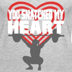 You Snatched My Heart Female Lifter Tanks