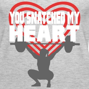 You Snatched My Heart Female Lifter Tanks - Women's Premium Tank Top