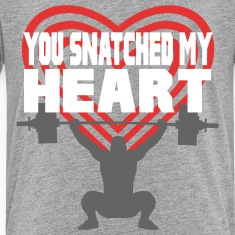 You Snatched My Heart Male Lifter Kids' Shirts