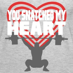 You Snatched My Heart Male Lifter Tanks