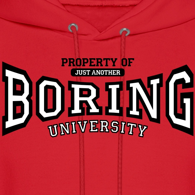 Property of just another boring university (red)