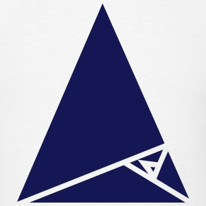 Triangle Hipster Design T-Shirts - Men's T-Shirt