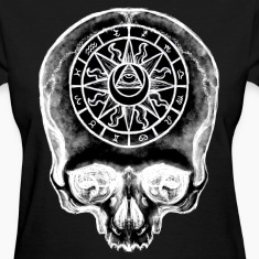 Astrology Skull Ladies T