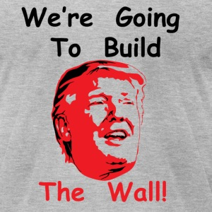 The Wall - Men's T-Shirt by American Apparel