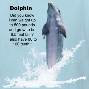 Dolphin Facts Kids' Shirts - Kids' T-Shirt