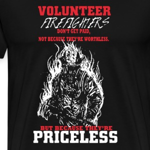 Volunteer Firefighters - Men's Premium T-Shirt