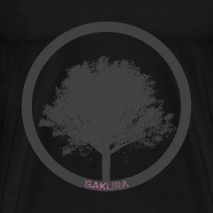 Sakura Cherry Tree T-Shirts - Men's Premium T-Shirt