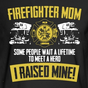 Firefighter Mom Shirt - Men's Long Sleeve T-Shirt