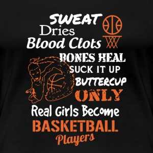 Basketball Girl Players - Women's Premium T-Shirt