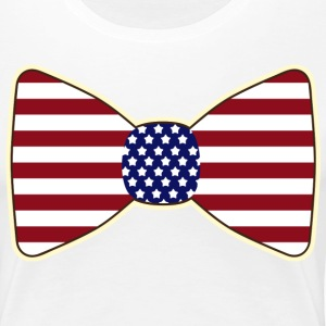 Patriotic July Fourth Women's Tee - Women's Premium T-Shirt