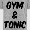 Gym and Tonic Kids' Shirts - Kids' Premium T-Shirt