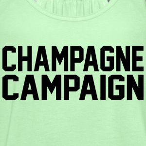 Champagne Campaign Tanks - Women's Flowy Tank Top by Bella