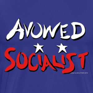 Avowed Socialist - Men's Premium T-Shirt