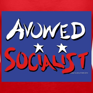 Avowed Socialist blufield - Women's Premium Tank Top