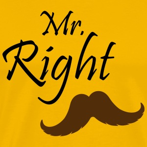 Mr. Right Men's T-Shirts - T-shirt premium pour hommes