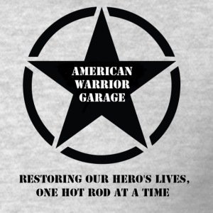American Warrior Garage T-Shirt - Men's T-Shirt