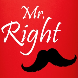 Mr. Right Mug - Full Color Mug