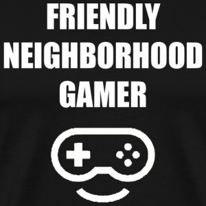 Friendly Neighborhood Gamer T-Shirt - Men's Premium T-Shirt