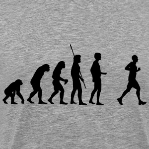 evolution Jogger Shirt - Men's Premium T-Shirt