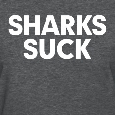 Sharks Suck Women's T-Shirts