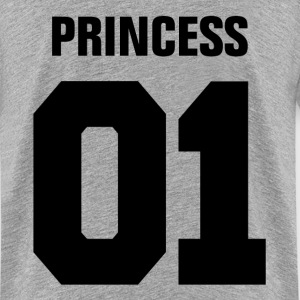 Princess 01 Family Daughter Mother Couple Girl  Kids' Shirts - Kids' Premium T-Shirt