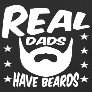 Real Dads Have Beards T-Shirts - Baseball T-Shirt