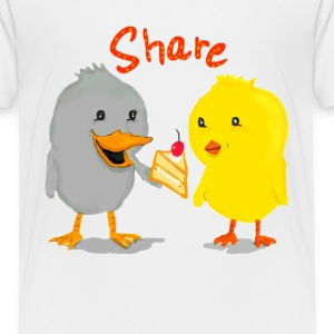 Share is Care - Toddler Premium T-Shirt