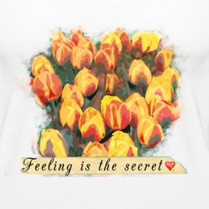 tulips Tanks - Women's Premium Tank Top