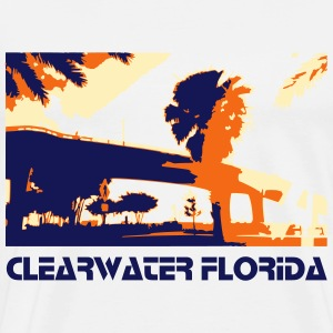 Clearwater Florida - Men's Premium T-Shirt