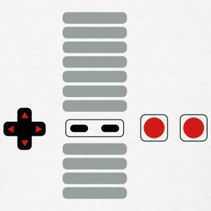 Old School Gamer Buttons T-Shirts - Men's T-Shirt