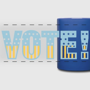 Vote Mugs & Drinkware - Full Color Panoramic Mug