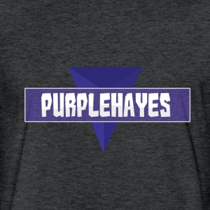 PurpleHayes Channel Logo T-Shirts - Fitted Cotton/Poly T-Shirt by Next Level