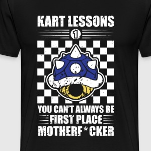 Kart Lessons #01 - Men's Premium T-Shirt